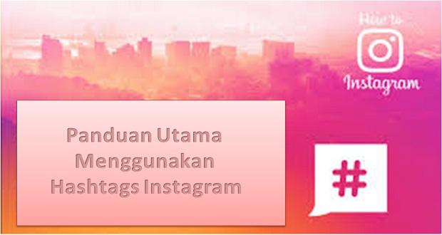 Menggunakan Hashtags Instagram
