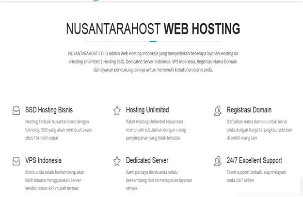 Nusantarahost-cloud hosting terbaik