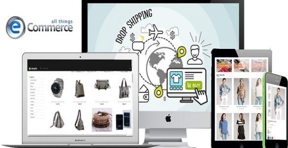 Membuat toko online dropship