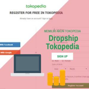 cara nenjadi dropship tokopedia - daftar menggunakan social media
