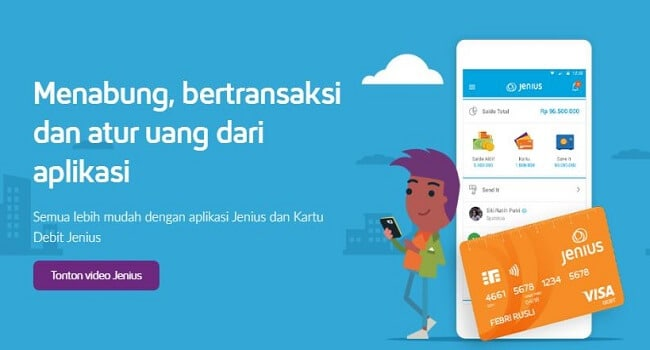 Aplikasi Tabungan Jenius