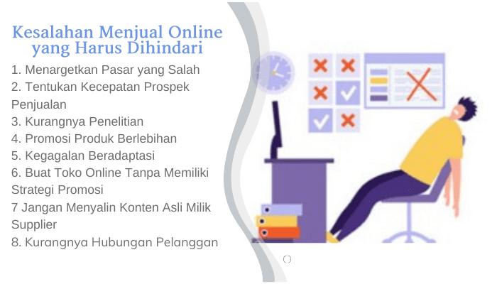 Kesalahan Menjual Online yang Harus Dihindari