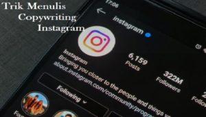 Menulis Copywriting di Instagram