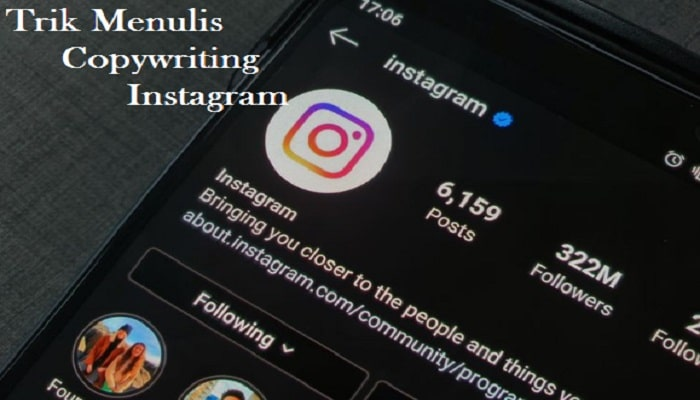 Menulis Copywriting di Instagram