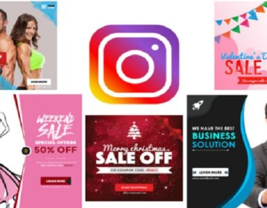 banner promosi Instagram