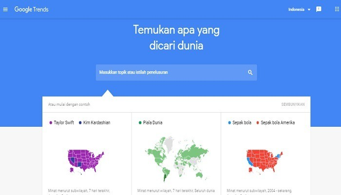 Cara Menggunakan Google Trends