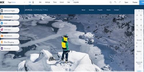 Sesuaikan situs dengan Editor Wix