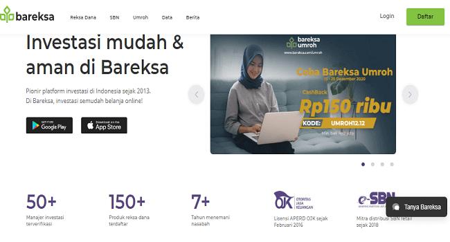 Bareksa, Aplikasi Investasi Online Terpercaya