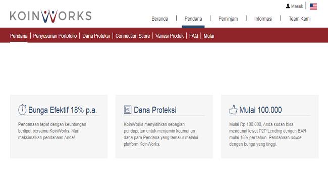 KoinWorks, Aplikasi Investasi Terbaik